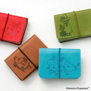 メール便OK ムーミン MOOMIN イタリア製PUレザー カードホルダー カードケース 蛇腹 ムーミングッズ ムーミン雑貨 ミイ 北欧 プレゼント ギフト おしゃれ かわいい 誕生日