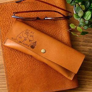 ムーミン MOOMIN ムーミンシリーズ レザーメガネケース ムーミングッズ 北欧 ムーミン雑貨 眼鏡ケース 日本製 ギフト プレゼント お祝い 誕生日 入学祝い 新生活