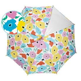子ども用 傘 kukka hippo クッカヒッポ キッズ 雨傘 45cm ガーデン 花 雨傘 北欧 子供 フラワー 3才 4才 5才 おしゃれ プレゼント ギフト 安全