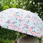 北欧デザインKorkoコルコクイックオープン折りたたみ晴雨兼用日傘50cm『森の恵み』