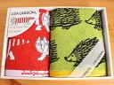 リサ・ラーソン フェイスタオルハンドタオルのセット 厚手タイプ ギフトボックス入り 北欧 北欧雑貨 イギー マイキー レオ おしゃれ プレゼント お返し お礼 内祝い