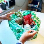 エコバッグSWEDENCOOPスウェーデンコープ折りたたみコンパクトマチ付きグリーン緑エングラマルクAnglamark
