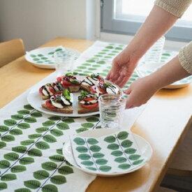 テーブルランナー スティグ・リンドベリ Stig Lindberg ベルサ Bersa テーブルセンター 北欧 北欧雑貨 スウェーデン テキスタイル プレゼント お祝い 葉っぱ柄 緑 グリーン