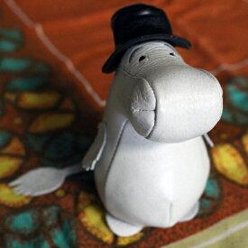 【期間限定ポイント最大20倍】ムーミン Moomin ムーミンパパ レザーペーパーウェイト 革 レザー ディスプレイ おもり おもし 文鎮 プレゼント ギフト ムーミングッズ ムーミン雑貨|ポイント消化