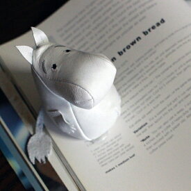 ムーミン Moomin ムーミントロール レザーペーパーウェイト 革 レザー ディスプレイ おもり おもし 文鎮 北欧 プレゼント ギフト ムーミングッズ ムーミン雑貨|ポイント消化