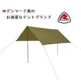デンマーク発 ローベンス タープ 4×4 今大人気のティピ テント ROBENSのtarp グランピングに最適!お洒落なタープ 北欧 デンマーク キャンプ アウトドア ヨーロッパ