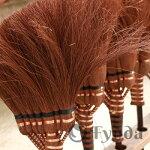 最高級鬼毛長柄ほうき125cm鬼毛箒長柄9玉和歌山海南市伝統手工芸品最高級棕櫚シュロ