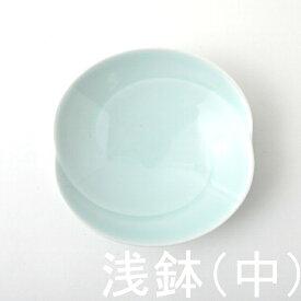 1,500点以上の波佐見焼ショップ【FysmColor】ともえ 浅鉢・中(青白釉) 白山陶器波佐見焼 5種で3番目に大きいシンプル 取り皿17cm×高さ4cm 230g