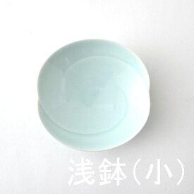 1,500点以上の波佐見焼ショップ|FysmColorともえ 浅鉢・小(青白釉) 白山陶器波佐見焼 5種で4番目の大きさデザート小皿 深みあり シンプル12.5×高さ3cm 100g