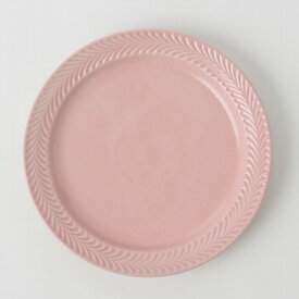 1,500点以上の波佐見焼ショップ!ローズマリー ピンク 24cmプレート 波佐見焼 大皿 pizza パスタ皿 シンプル引き出物 プレゼント 贈り物23.5cm 高さ3cm 570g
