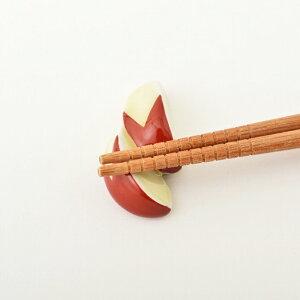 10/18-10/21 4日間限定ポイント10倍!うさぎさんりんご 箸置き 波佐見焼 手描きかわいい箸置き HASAMI ハシオキリンゴ 美味しい 新鮮 産地直送 5×2.5cm 高さ2cm 20g