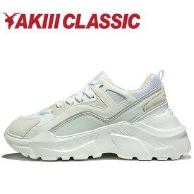 アキクラシック CASPER AKC-0004-WHG レディース スニーカー 靴 くつ シューズ AKIIICLASSIC