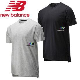 クリアランスセール【メール便送料無料】ニューバランス 997S プリント ヘザーテック ショートスリーブ Tシャツ AMT01061 メンズ 20SS