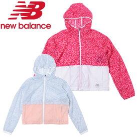 ニューバランス Sakura ライトパッカブルジャケット(裏地なし) AWJ0103Y レディース