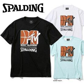 【メール便送料無料】スポルディング BASKETBALL Tシャツ MTV バスケットボール SMT200010 メンズ ユニセックス
