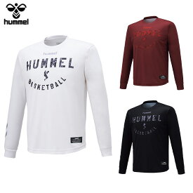 【メール便送料無料】 ヒュンメル BSK 昇華ロング Tシャツ HAPB7009 メンズ 【hm50】