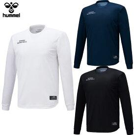 【メール便送料無料】 ヒュンメル BSK プラクティスロング Tシャツ HAPB7010 メンズ 【hm50】