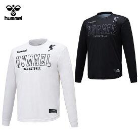 【メール便送料無料】 ヒュンメル BSK 昇華ロング Tシャツ HAPB7011 メンズ 【hm50】