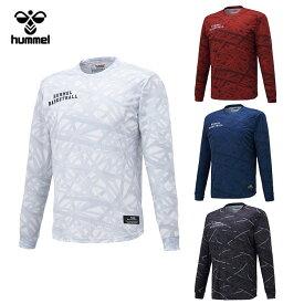 【メール便送料無料】 ヒュンメル BSK 昇華ロング Tシャツ HAPB7012 メンズ 【hm50】