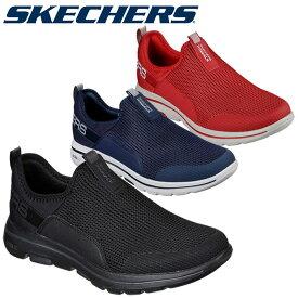 最終処分特価 スケッチャーズ GO WALK 5 DOWNDRAFT 216015 メンズシューズ スニーカー 靴 くつ