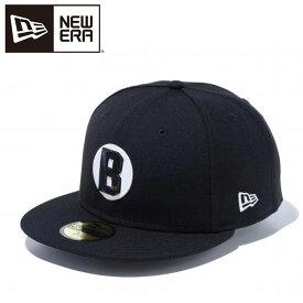 ニューエラ 59FIFTY ニグロリーグ ボルティモア・ブラックソックス ブラック × ホワイト 12019025