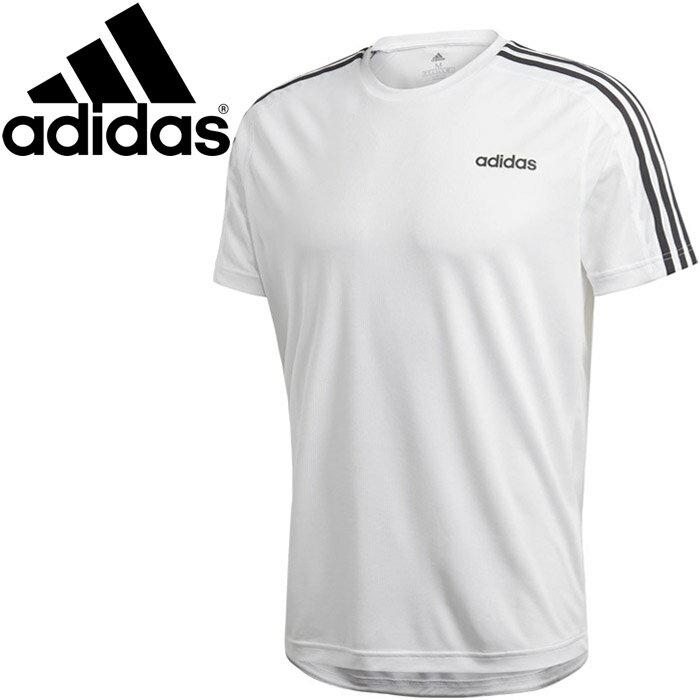 【2点までメール便送料無料】アディダス M CORE 3ストライプスTシャツ メンズ FSF33-DU1242