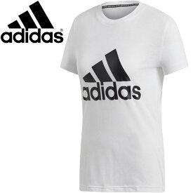 【2点までメール便送料無料】アディダス W MH エンボス レギュラー Tシャツ レディース FXT16-DZ0013
