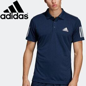 【2点までメール便送料無料】アディダス TENNIS CLUB 3STR POLO ポロシャツ メンズ FRW69-DU0850