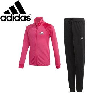 阿迪达斯G运动衫上下安排(跑步者裤子)青少年女孩子AAW16-DM1402