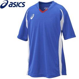 【2枚までメール便送料無料】アシックス サッカー Jr.ゲームシャツHS ジュニア XS3140-45
