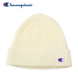 【メール便送料無料】チャンピオン ニット帽 ビーニー レディース CW-QS705C-010 19FW クリアランスセール
