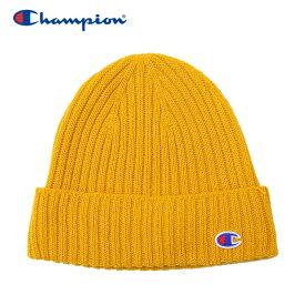 【メール便送料無料】チャンピオン ニット帽 ビーニー レディース CW-QS705C-750 19FW クリアランスセール