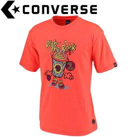 コンバース Tシャツ 裾ラウンド メンズ CBE291315-5600F