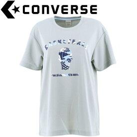 【メール便送料無料】コンバース バスケットボール ウィメンズプリントTシャツ CB301354-1500