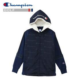 チャンピオン ゴルフ ジップフードジャケット レディース CW-QG103-370 19FW