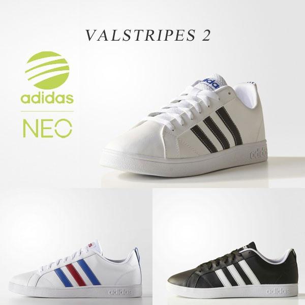 アディダス ネオ バルストライプス2 メンズ レディース スニーカー adidas NEO VALSTRIPES2 シューズ