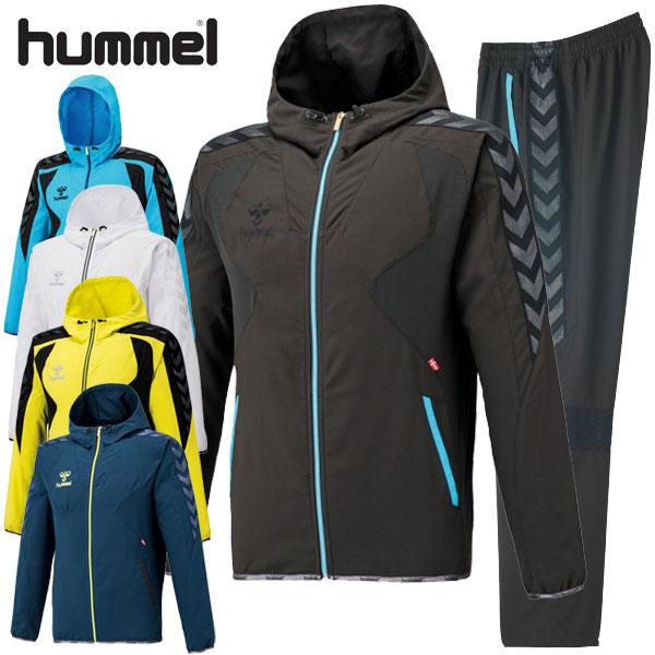 【あす楽対応】 ヒュンメル メンズ UT-クロスアップ上下セット HAW7032-HAW7032P hummel ウォームアップ トレーニング