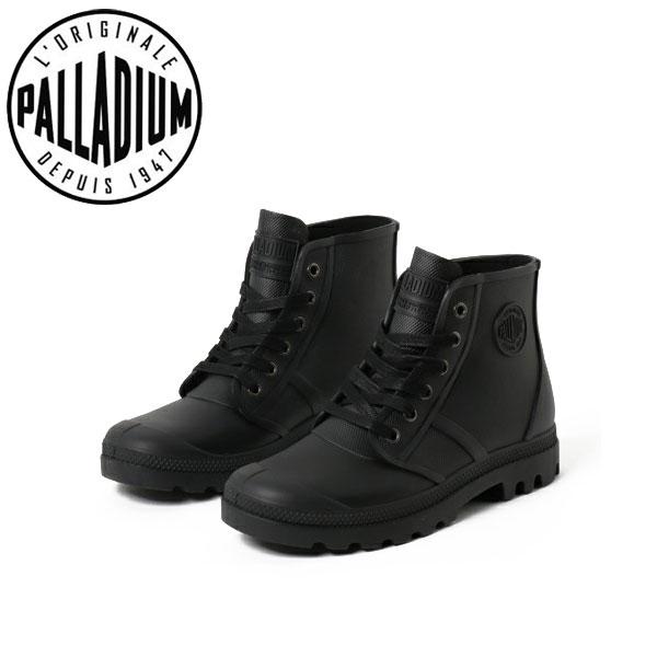 パラディウム スニーカー ブーツ メンズ レディース レインシューズ パンパ ハイ レイン 75556-008 PALLADIUM