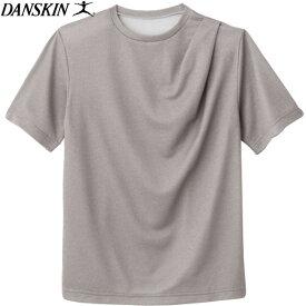 【あす楽対応】 ダンスキン 半袖Tシャツ レディース トレーニング ノンウェット クルーネック DB77319-Z DANSKIN