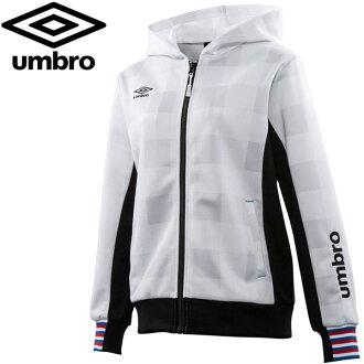 ★Ann bath soccer training Lady's womens buffalo check FDD jacket UCA2748W-WHT 17FW umbro