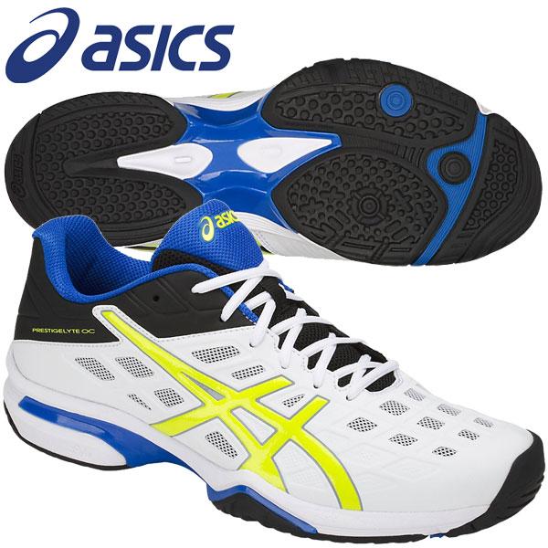 アシックス PRESTIGELYTE OC wide テニスシューズ メンズ レディース オムニ・クレー兼用 18SS TLL771