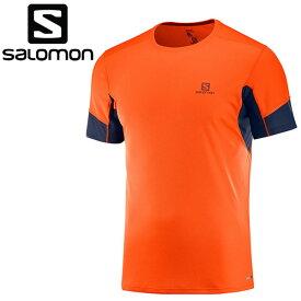 【2点までメール便送料無料】サロモン シャツ 半袖 AGILE SS TEE M メンズ L40385300