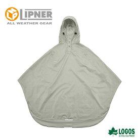 LIPNER リプナー サイクルレインポンチョ グレー 2827121 レインウェア メンズ