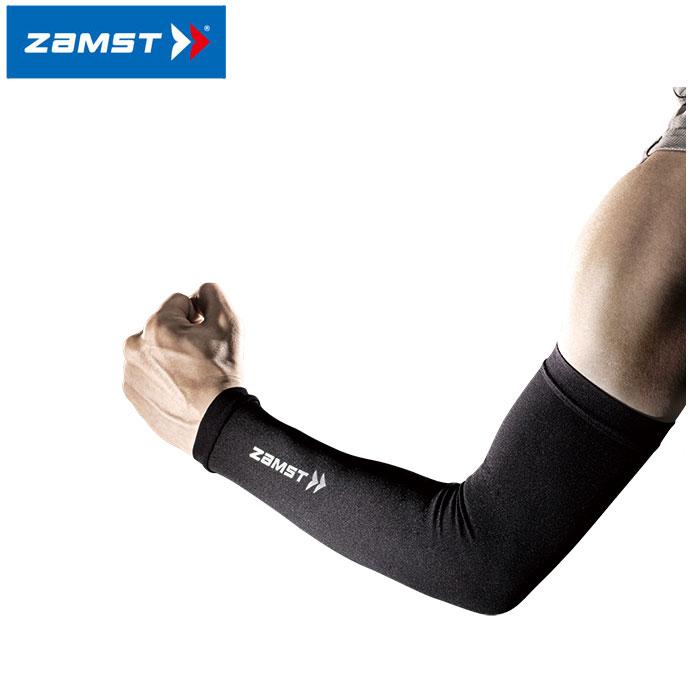 【2点までメール便送料無料】ザムスト NEW アームスリーブ 腕用スリーブ 両腕入り