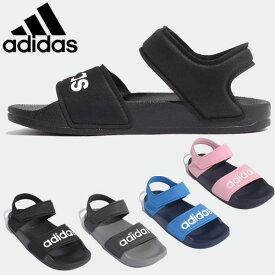 在庫一掃セール アディダス アディレッタ サンダル キッズ ジュニア 子供靴 ADILETTE SANDAL K DQY65 G26879 G26877 G26878 G26876