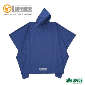 LIPNER リプナー PVCポンチョ ブルー 23712159 レインウェア メンズ
