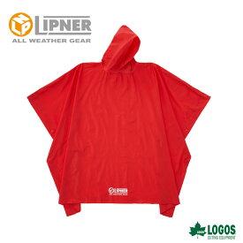 LIPNER リプナー PVCポンチョ レッド 23712419 レインウェア メンズ