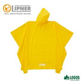 LIPNER リプナー PVCポンチョ イエロー 23712529 レインウェア メンズ