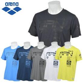 【在庫処分】【2点までメール便送料無料】アリーナ T-body HS 半袖Tシャツ メンズ ASN-9442
