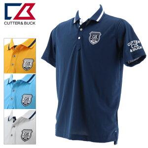 カッター&バック サンスクリーンマークポロシャツ メンズ 春夏 ゴルフウェア CGMPJA31